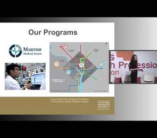 Dr. Guenevere Burke, Assistant Professor at George Washington University in Washington, DC, talks about her work in the Emergency Medicine Innovative Practice Group developing the use of telemedicine in emergency care.