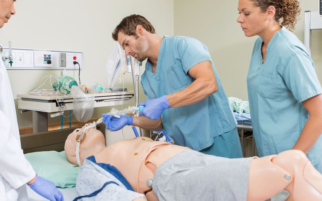 Interprofessional simulation training