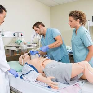 Interprofessional simulation training