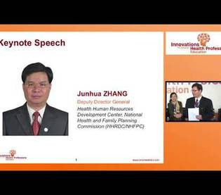 Health care priorities in China | Dr. Junhua Zhang: Shanghai 2017