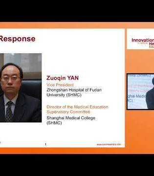 Standardisation of medical education in China | Dr. Zuoqin Yan: Shanghai 2017